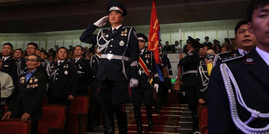ФОТО: Цагдаагийн байгууллагын 95 жилийн ойн баярын хурал, концерт