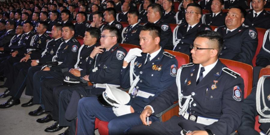Цагдаагийн алба хаагчдад  хүндэтгэл үзүүлж, урамшуулна