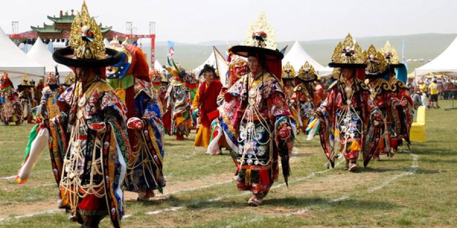 Монгол цамын ёслол