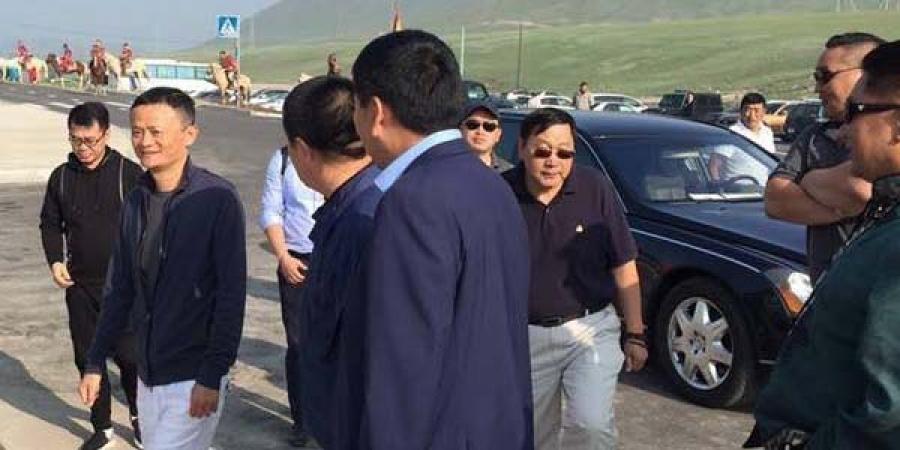 Alibaba группын үүсгэн байгуулагч Жэк Ма Монголд иржээ