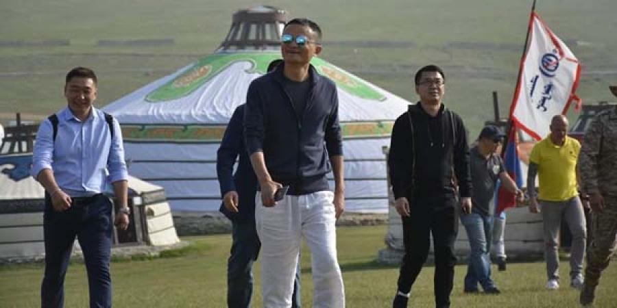 ФОТО: Жэк Ма Монголд