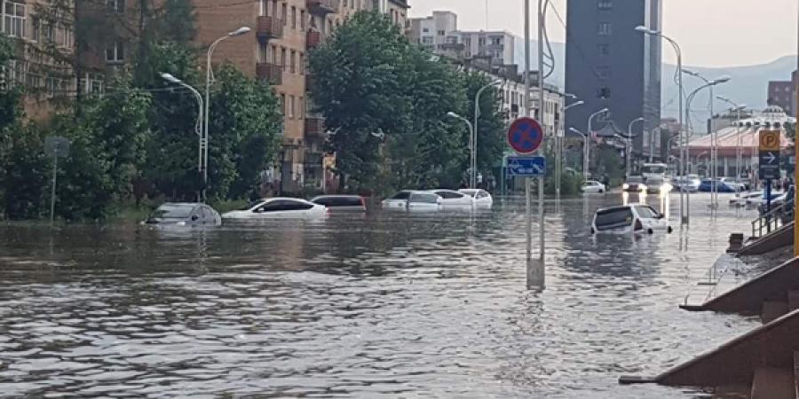ФОТО: Нийслэлд үер буулаа