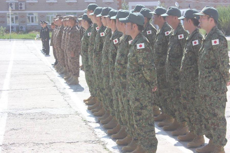 Монгол, Япон цэргүүдийн хамтарсан сургууль эхэллээ