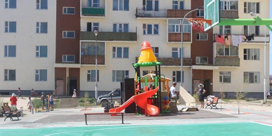 МУГЖ Ж.Алтанцэцэг хүүхдийн тоглоомын талбайг тохижуулав