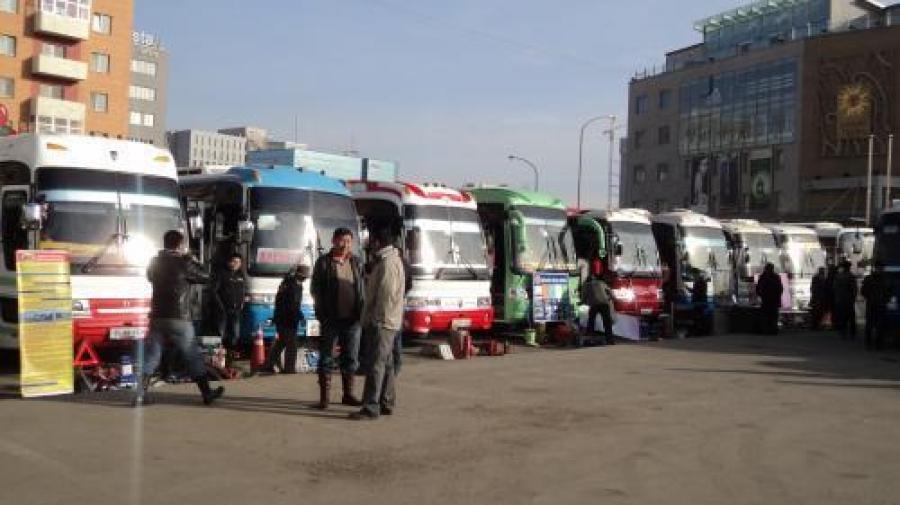 Хот хоорондын автобуснуудыг техникийн үзлэгт хамруулна