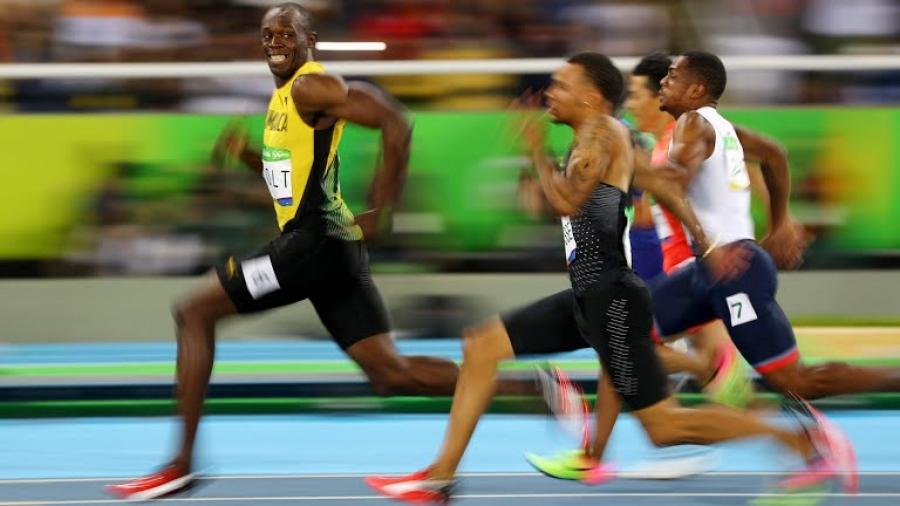 Усэйн Болт 100 метрийн уралдаанд түрүүллээ