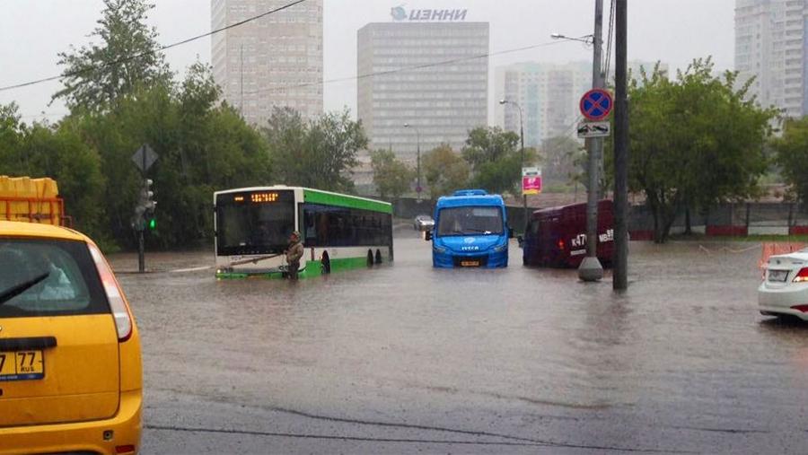 ФОТО: Москва хот үерт автлаа