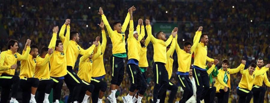 Бразил түүхэндээ анх удаа олимпийн аварга боллоо