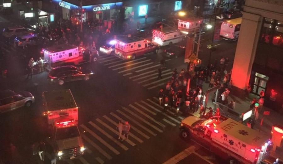Нью-Йорк хотын Манхэттэн дүүрэгт дэлбэрэлт болжээ