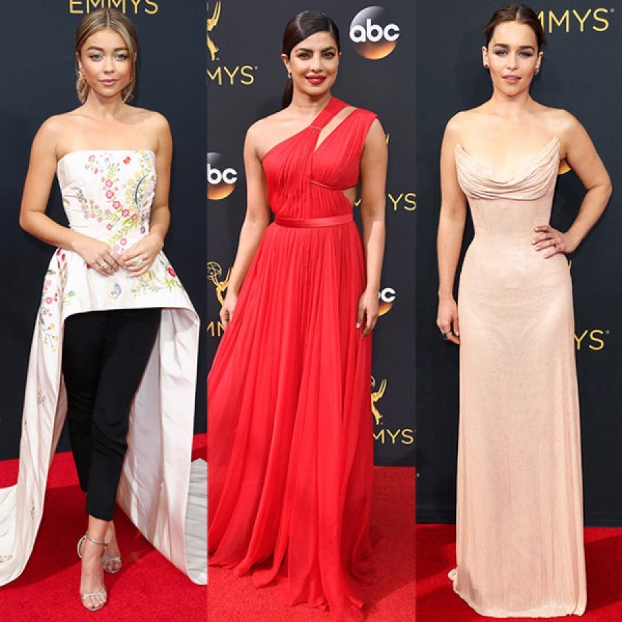 Emmy Awards ёслолын улаан хивсний зочдын гоёл