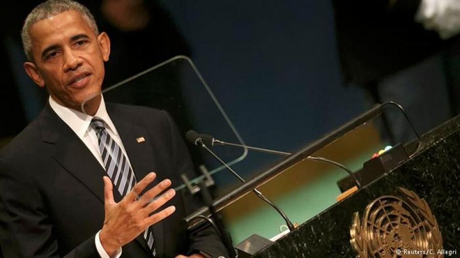 АНУ-ын Ерөнхийлөгч НҮБ-ын индэр дээрээс ОХУ-ыг зэмлэв