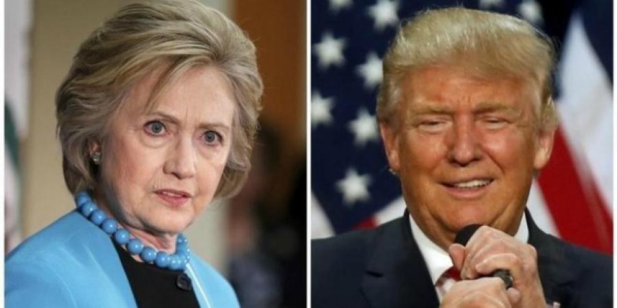 Хиллари, Трамп нар халз мэтгэлцэж байна