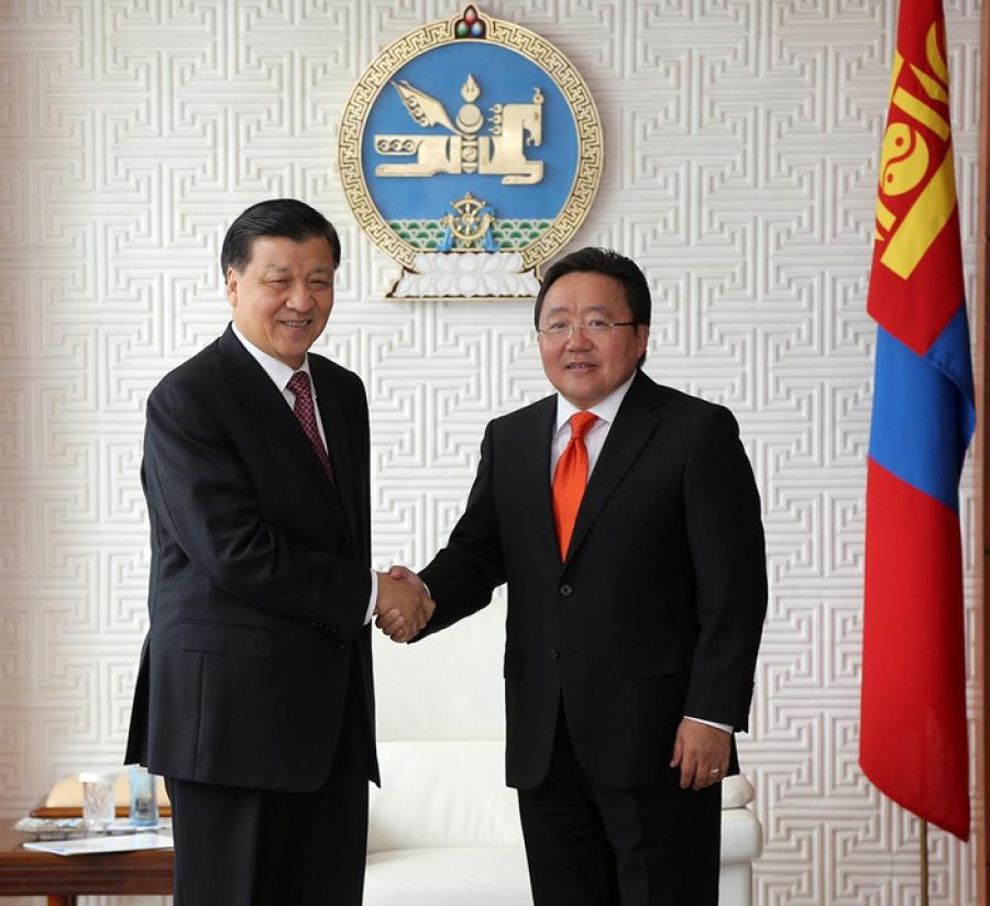 Ерөнхийлөгчид Лю Юньшань бараалхав