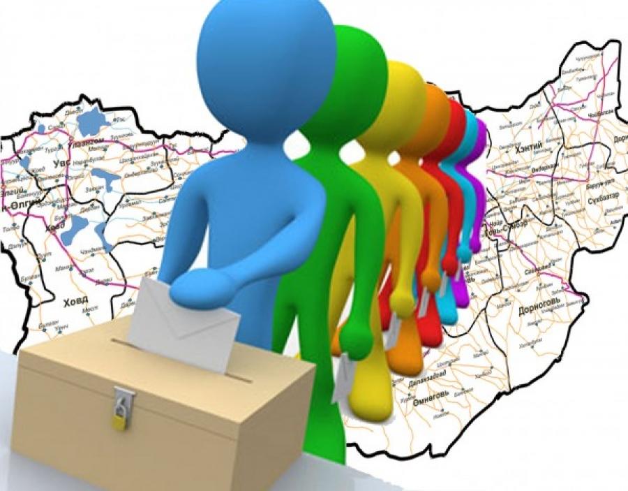 Сонгуулийн дүн урьдчилсан байдлаар