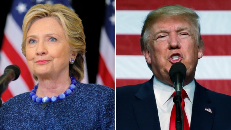 Доналд Трамп VS Хиллари Клинтон