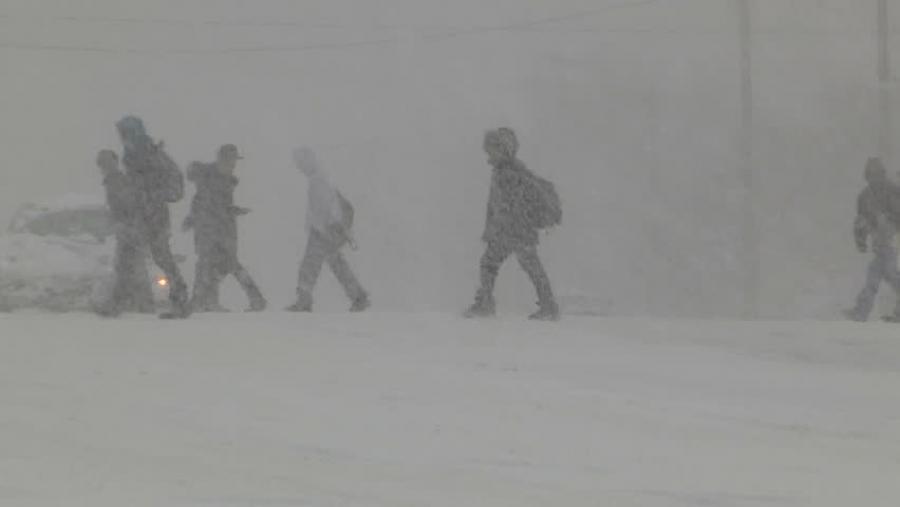 СЭРЭМЖЛҮҮЛЭГ: Өнөө шөнө төвийн аймгуудийн нутгаар цасан шуургатай