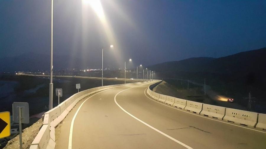 Богд уулын арын авто замын гэрэлтүүлэгийн ажил дуусчээ
