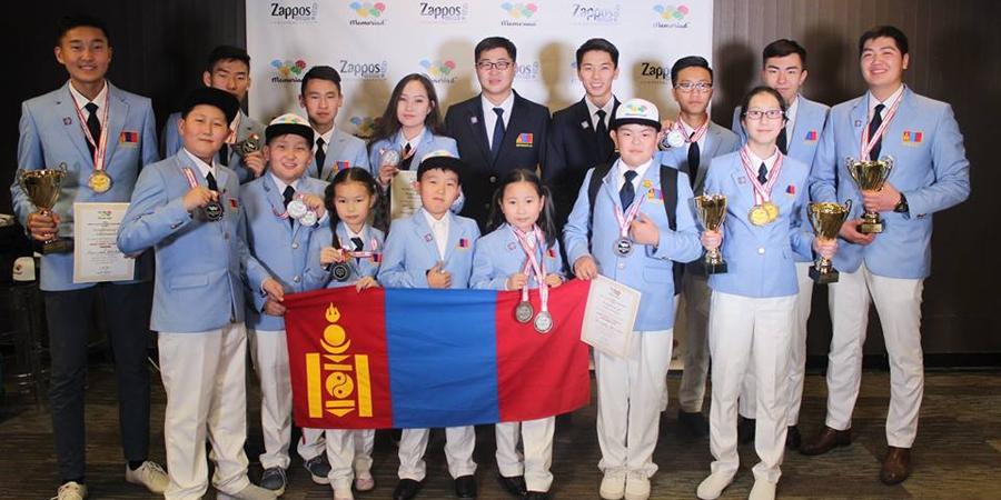 Монголын баг тамирчид оюуны олимпт тэргүүллээ