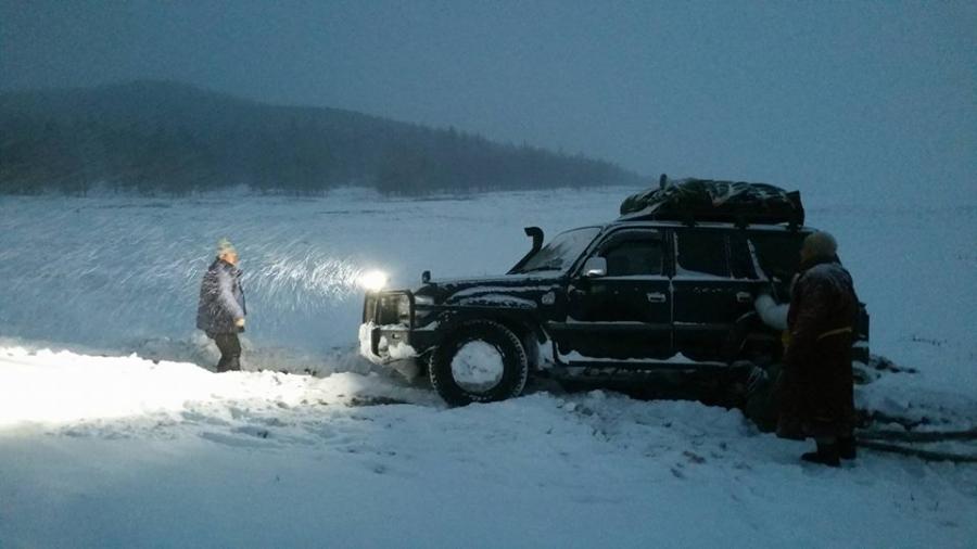 Ховд аймагт цасны зузаан 50см хүрчээ