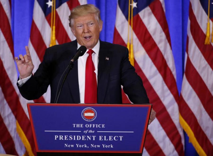 Шударга Путин ба аймшигт CNN: Трамп анхны хэвлэлийн хурлаараа юу ярив