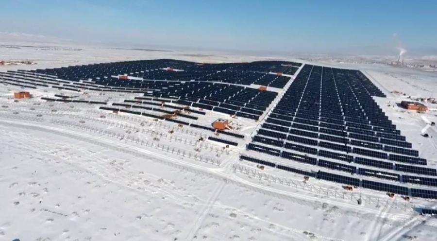 Дархан-Уул аймагт нарны цахилгаан станцын нээлт болно