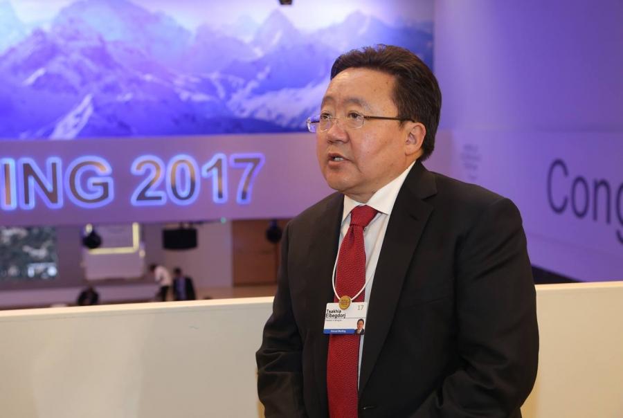 """""""Монгол Улс Давосын чуулга уулзалтад хүлээн зөвшөөрөгдсөн түнш болж чадлаа"""""""