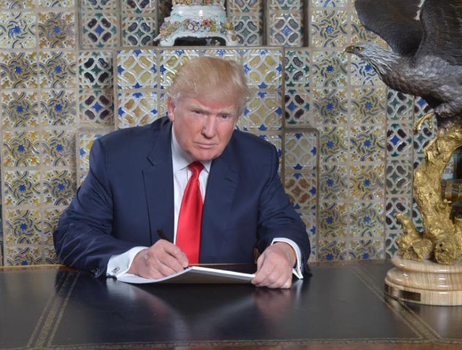 Доналд Трамп: Хоосон ярьдаг цаг дуусч, хийж хэрэгжүүлэх цаг ирлээ