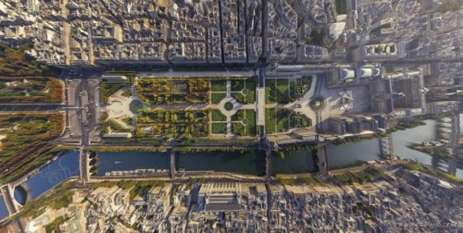 ФОТО: Дэлхийн хотуудыг эгц дээрээс нь харвал