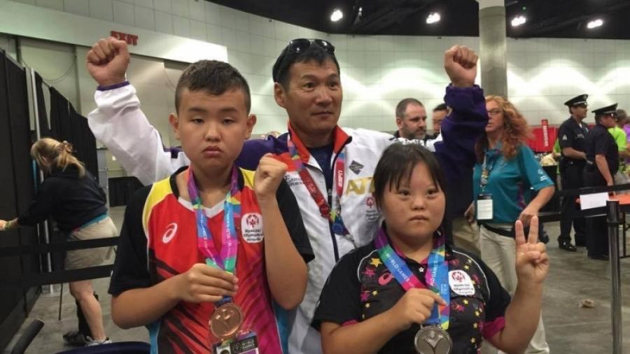 Тусгай олимпийн наадамд оролцох тамирчдыг үдэх ёслол боллоо