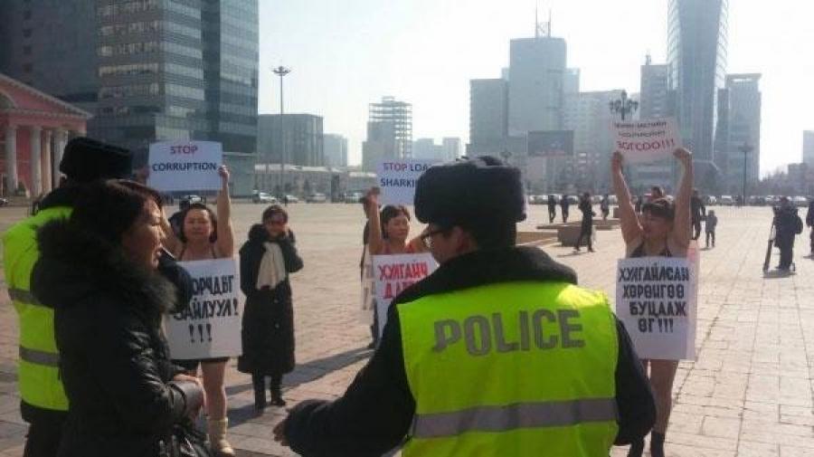Ардчилсан Монголын иргэдэд жагсах эрх ч алга