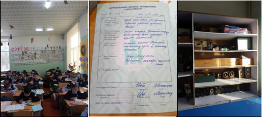 Нийслэлийн ЕБС-иудад шалгалт хийжээ
