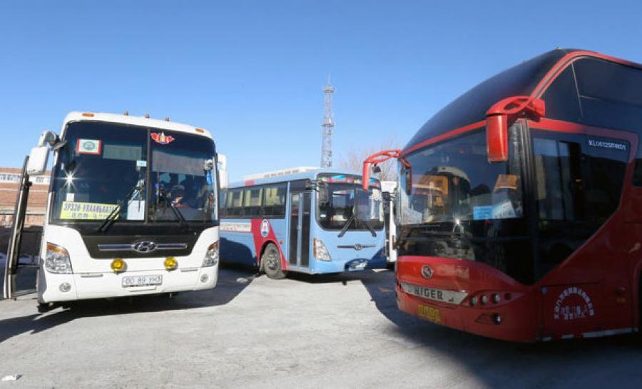 Дорнод-Манжуурын чиглэлд автобус үйлчилж эхэллээ