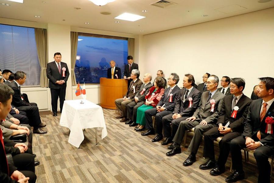 М.Энхболд: Монголд Японы ард түмний тусламж дэмжлэг хүрээгүй айл өрх бараг байхгүй
