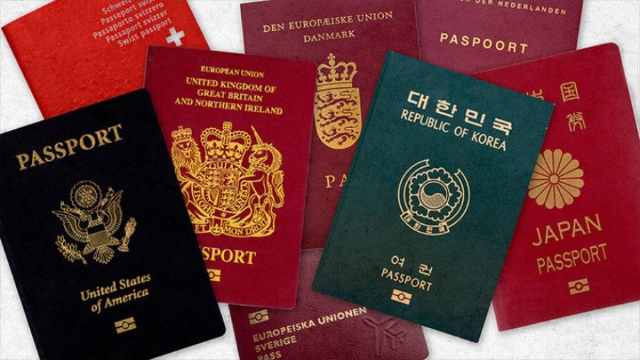 Паспортны өнгө юуг илэрхийлдэг вэ