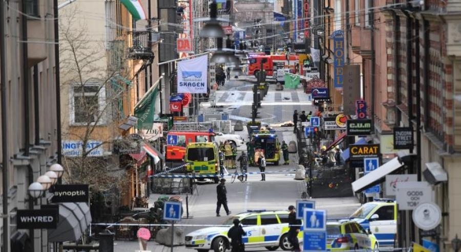Стокгольмд халдлага гарлаа