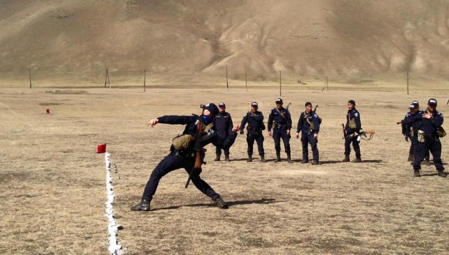 """Цагдаагийн байгууллагын """"Марш тактик"""" тэмцээн болж байна"""
