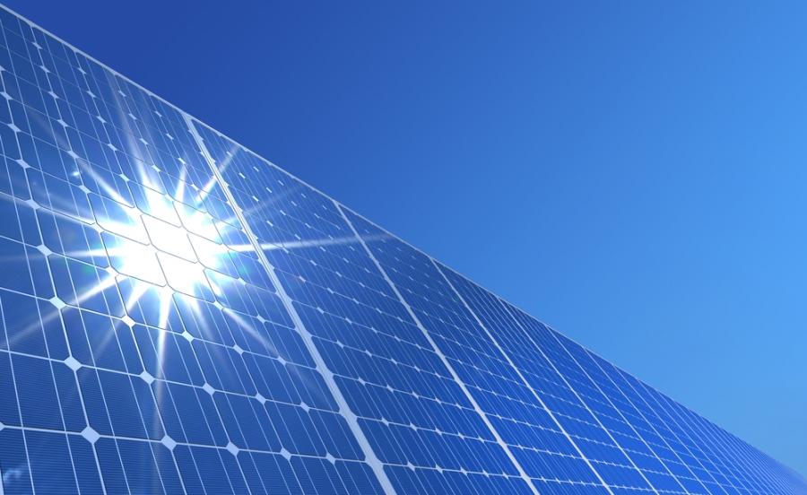 Сайншандад нарны цахилгаан станцын шав тавилаа