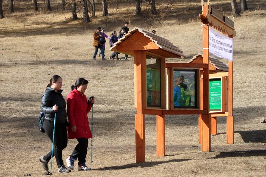 Тэрэлж, Богд ууланд аялагчдад зориулсан явган зам энэ сард ашиглалтад орно