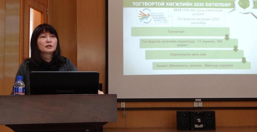 Т.Булган: Ногоон зээлийн сан агаарын бохирдол руу чиглэсэн төсөл хөтөлбөрүүдийг санхүүжүүлнэ