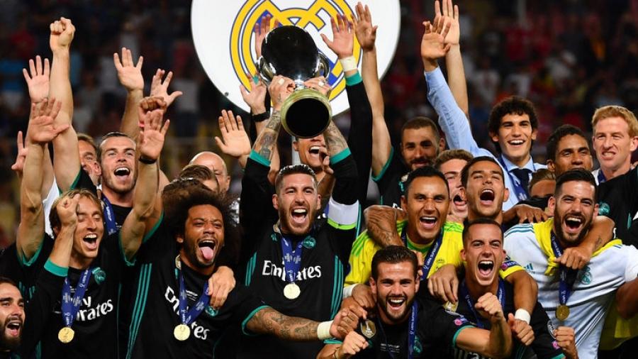 """Реал Мадрид Европын  """"Супер цом""""-ын тэмцээнд түрүүллээ"""
