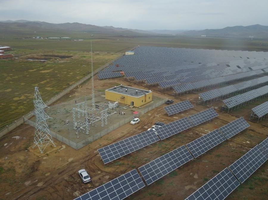 Сонгинохайрхан дүүрэгт 10МВт-ын хүчин чадалтай нарны цахилгаан станц ашиглалтад орно
