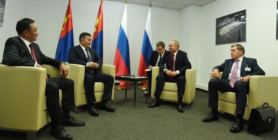 Ерөнхийлөгч Х.Баттулга В.Путинтай уулзлаа