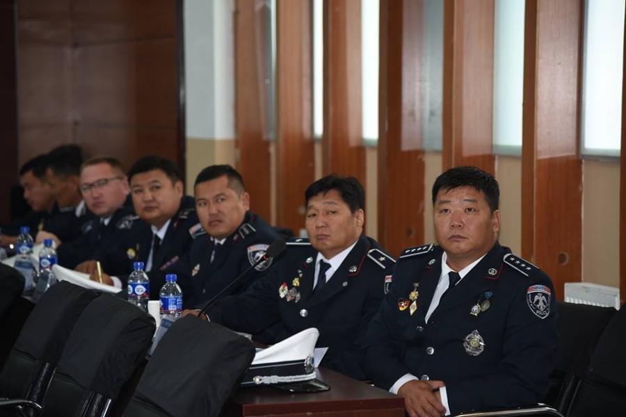 Замын цагдаагийн удирдах ажилтнуудын зөвлөгөөн болж байна