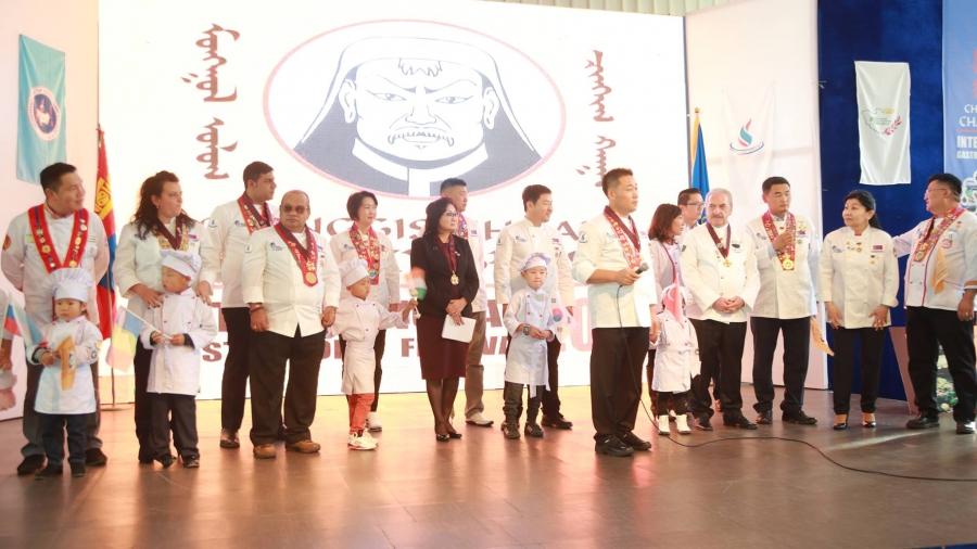 """""""Chinggis Khaan's Challenge Cup-2017"""" олон улсын тогоочдын уралдаан эхэллээ"""