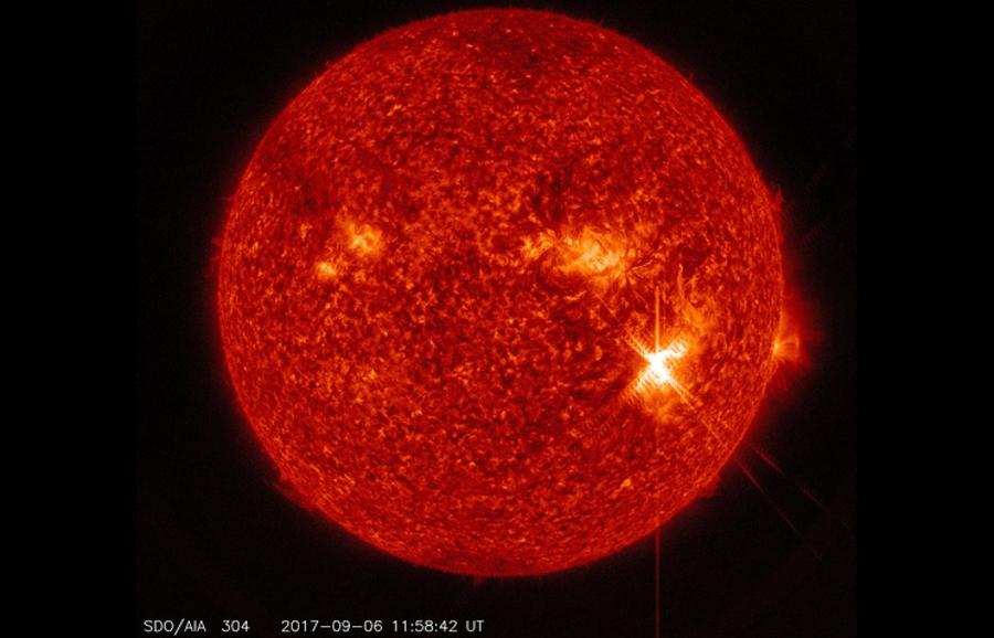 Наран дээр сүүлийн 12 жилд ажиглагдаагүй хүчтэй тэсрэлт болжээ