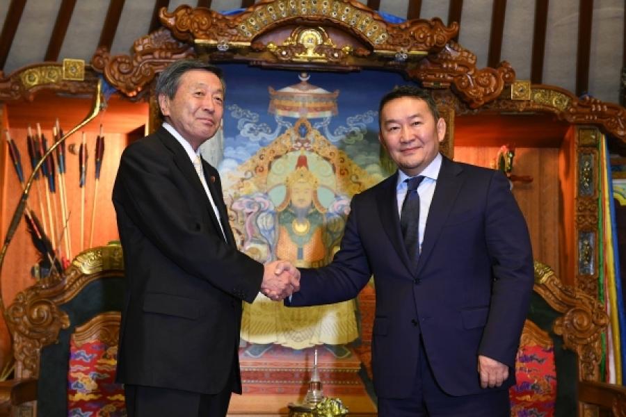 Монгол-Японы харилцааг шинэ түвшинд гаргана
