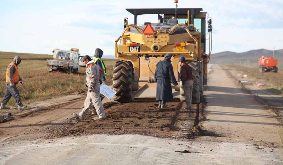 Дархан-Улаанбаатар чиглэлийн зам засварын ажил ирэх лхагва гарагт дуусна
