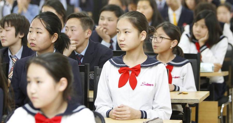 """""""Ханзны наадам""""-д """"Сакура"""" сургуулийн ахлах ангийн сурагчид түрүүллээ"""