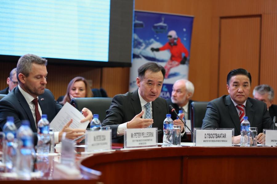 Монгол, Словакийн бизнес форумыг зохион байгуулав