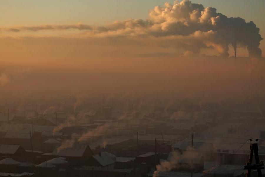 Хотын агаар маш их бохирдолтой байна